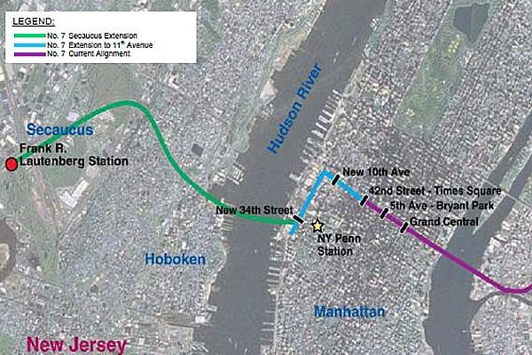 东方快车可否开到新泽西?法拉盛又会怎样?