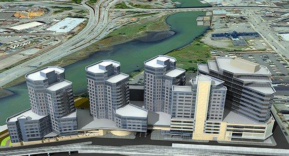 法拉盛最新开发案:华人地产开发商徐家树购入河边大型地块