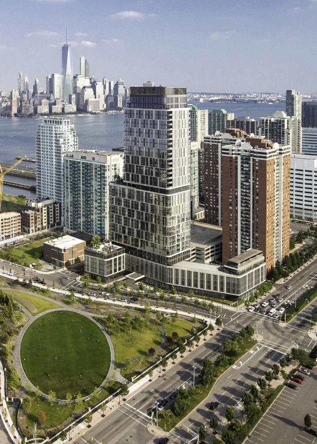 中建美国豪华高层公寓落户泽西市新港助力当地经济