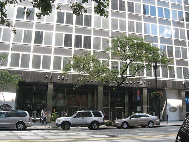 一个时代的终结,辉瑞(Pfizer)55年纽约总部将被出售