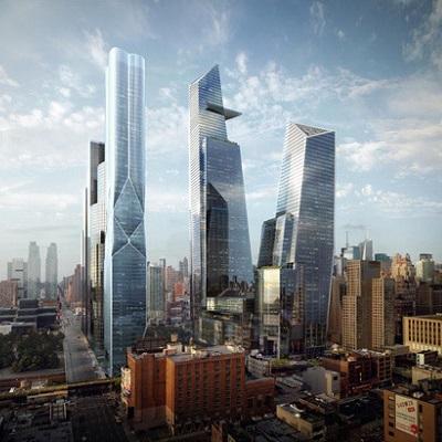 纽约最大开发案哈德逊城市广场Hudson Yards