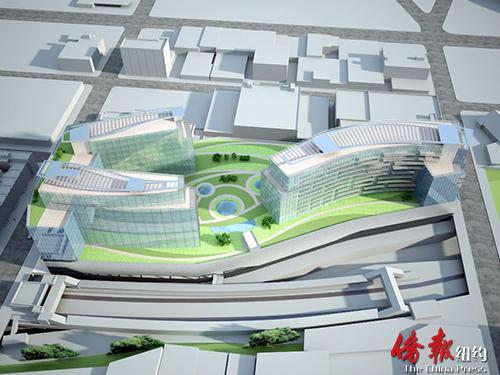 纽约布碌仑八大道62街大型商业楼公布新设计