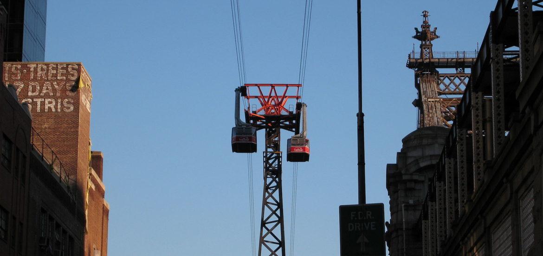 纽约州酝酿修建缆车缓解交通压力