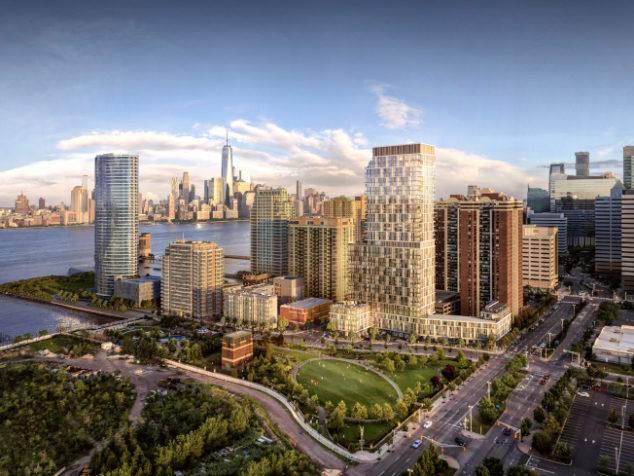 隔河相望曼哈顿 中建新港住宅首售