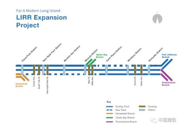 中建美国公司联营体中标纽约长岛铁路新线工程