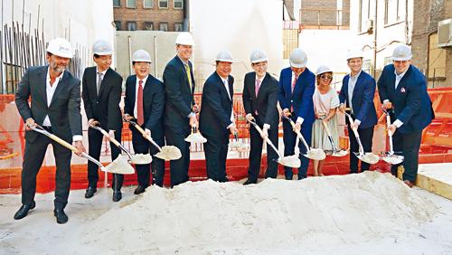 懒理贸易战 中建纽约建豪宅 「格林威治西」破土动工