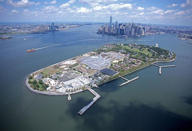 纽约市长白思豪公布总督岛改造计划