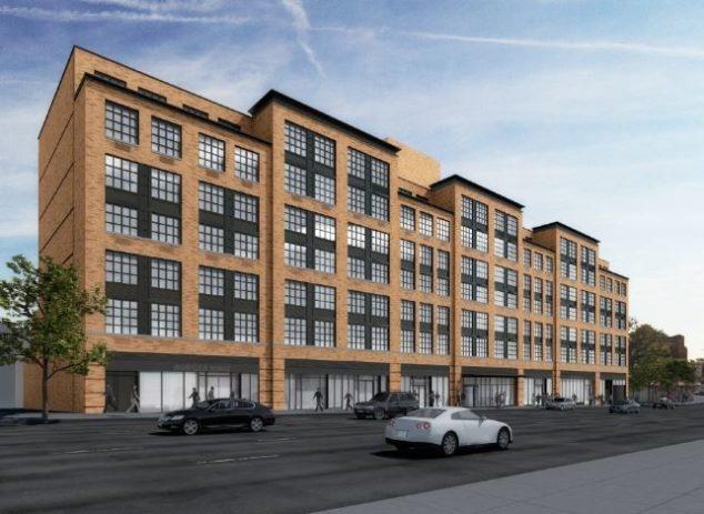 法拉盛新公寓楼修建中 H Mart和Burger King将入驻