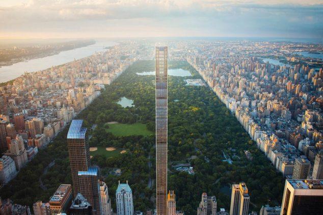 """曼哈顿""""亿万富豪街""""新高楼上线!售价1800万美金起"""