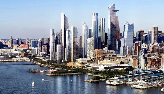 刷新纽约天际线!哈德逊广场云端楼盘项目一览