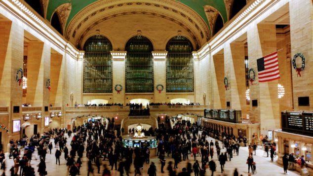 曼哈顿大中央车站地底 开凿新铁路中心