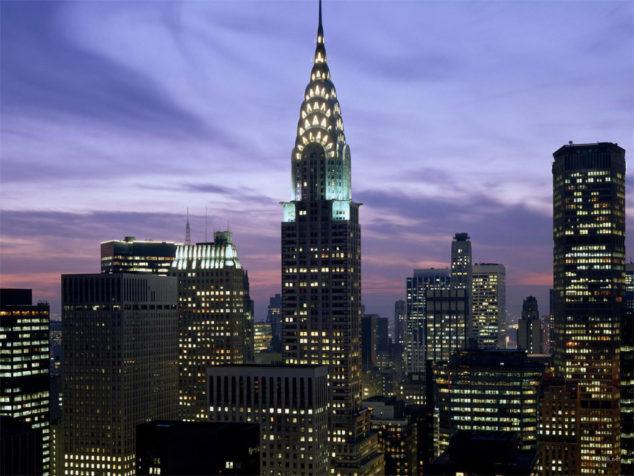 传纽约克莱斯勒大厦已挂牌待售 曾是世界最高建筑
