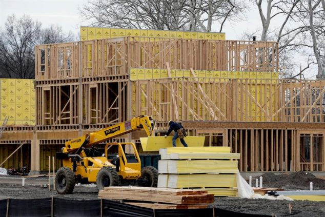 美国2月份新屋开工数持续下降 房价增速自2012年以来最低